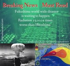 """AYale Professoris compelling the world to wake up from its nuclear slumber and face some cold-hard facts,""""All of humanity will be threatened for thousands of years""""if the Fukushima Unit 4 pool can't be kept cool. ..."""