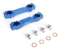 High Flow Subaru WRX STI GC8 V3-V4 Fuel Rail Kit #Arashi