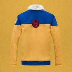 Uzumaki Naruto cosplay costumes for men Naruto winter coat