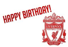 'LFC Happy Birthday' by Anfield Online. Say Happy Birthday to the Liverpool fan in your life. Happy Birthday Football, Soccer Birthday, Happy Birthday Wishes, Liverpool Fans, Liverpool Football Club, Birthday Cards For Men, Birthday Images, You'll Never Walk Alone, Finding Yourself