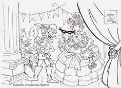 """Historia Urbana de Madrid: Coplas del domingo. Carnaval: """"En el Salón"""""""