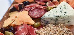 Consider your #charcuterie board your canvas and use as many varied textures and colors as you can find to make your own masterpiece. #charcuterieboard #appetizer #app #happyholidays #festive #easyandquick #delicious #elegant