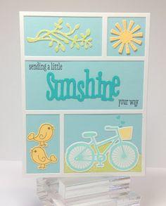 Happy Little Stampers: March CASE the Designer - Kim Heggins