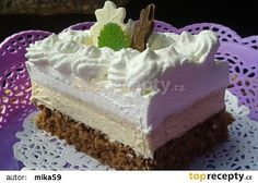 Řez Caffé Latte recept - TopRecepty.cz Czech Recipes, Russian Recipes, Delish Cakes, Cake Recipes, Dessert Recipes, Pavlova, Mini Cakes, Vanilla Cake, Baked Goods