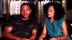 Exclusive: On Set with Black-ish stars Tracee Ellis Ross & Anthony Anderson