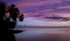 Tonight in Tahiti #sunset #tahiti