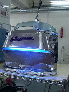 La marzocco looks like a Cylon!