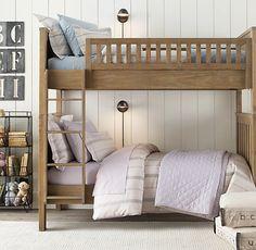 Kenwood Twin-Over-Full Bunk Bed: Restoration Hardware