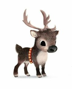 Cute tiny reindeer.