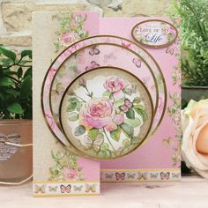 Cards and projects from our Forever Florals Rose collection featuring radiant rose imagery throughout. Cool Cards, Diy Cards, Card Making Inspiration, Making Ideas, Hunkydory Crafts, Beautiful Pink Roses, Shabby Chic Cards, Fancy Fold Cards, Mothers Day Cards