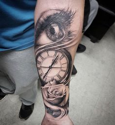Eye clock rose. - done 7 months ago today