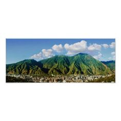 #wide panoramic view of Avila National Park -2:1 Poster - #deco #gifts