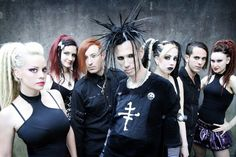 Industrial band the Cruxshadows. Great Industrial music and an often featured band at #Vampirefreaks events.