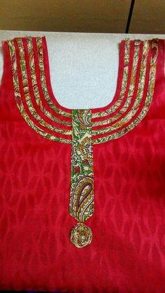 Chudithar Neck Designs, Neck Designs For Suits, Neckline Designs, Dress Neck Designs, Sleeve Designs, Blouse Designs, Salwar Kameez Neck Designs, Churidar Designs, Kurta Neck Design