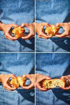 Fonott cukros briósmuffin | Street Kitchen Brie, Muffin, Street, Kitchen, Cooking, Kitchens, Muffins, Cuisine, Cupcakes