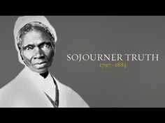 """Sojourner Truth is best known for her extemporaneous speech on racial inequalities, """"Ain't I a Woman? an African-American abolitionist and women's rights activist. Sojourner Truth Quotes, We Run The World, The Orator, Women In History, Black History Month, Girl Humor, Social Justice, Funny People, Women's Rights"""
