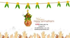 Wish you a Happy #Janmashtami #Vadodara  For more details, give us a call to NRS Projects on +91 9099903960 / 61 / 62 Email Id - info@nrsprojectsindia.com Visit WebSite - http://www.nrsprojectsindia.com/