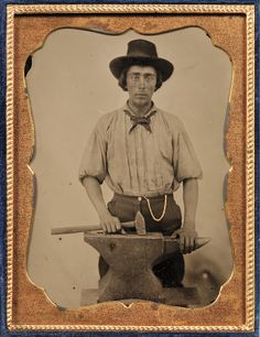 daguerreotype, blacksmith