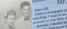 On their 61st wedding anniversary, a man published the sweetest love letter to his wife in the local newspaper.