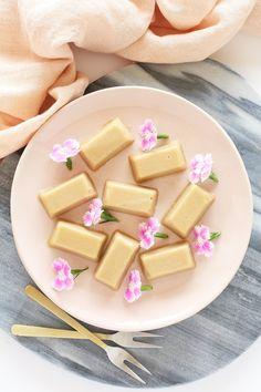 Healthy Russian Fudge - vegan tahini fudge