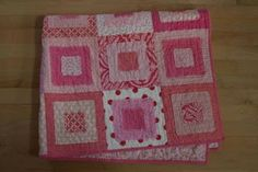 crazy mom quilts: how to make a ragged squares quilt