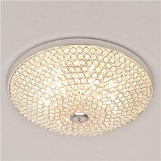 Sparkling Light Show Flush Mount Light