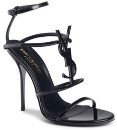 Luxury & Vintage Madrid offers you the best selection of contemporary and vintage Shoes in the world. Ysl Heels, High Heels, Shoes Heels, Strap Heels, Stilettos, Ankle Strap, Strappy Sandals, Black Sandals, Women Sandals