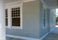 James Hardie Shingle siding has the same warm, authentic look as cedar shingles, yet it resists rotting, cracking, and splitting.