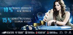 Bonus Deposit Sebesar 10% Dari Situs PokerCeban.com  Semuaaanya kalian dapatkan di website yang satu ini untuk menjalin hubungan baik bersama teman