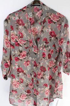 London Chiffon Shirt on Emma Stine Limited: