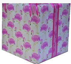 Extra Long Pink Flamingo All Occasion Gift Wrap Wrapping Paper Large 18ft Roll -- Click image for more details.Note:It is affiliate link to Amazon. #MakeaGift