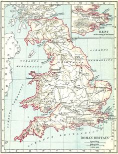 A school atlas of English history Uk History, Roman History, History Class, European History, British History, History Books, Map Of Britain, Roman Britain, Anglo Saxon History