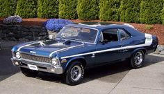 1970 Yenko Nova Deuce Maintenance of old vehicles: the material for new cogs/casters/gears/pads could be cast polyamide which I (Cast polyamide) can produce