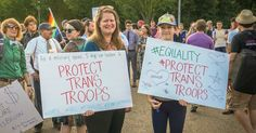 """Trump's """"Blatantly Unconstitutional"""" Transgender Ban Blocked by Federal Judge 