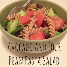 Avocado and Four Bean Pasta Salad #avocado #pasta #vegan #pastasalad #delish #veganism #healthy #yum #nom #whatveganseat #food #recipes #veganfood #vegetarian #veganrecipes #untileverycage #noanimalsharmed