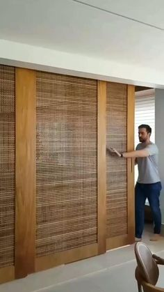 Living Room Partition Design, Room Partition Designs, Room Door Design, Living Room Sofa Design, Door Design Interior, Home Room Design, Interior Decorating, Wall Partition, Home Bar Decor