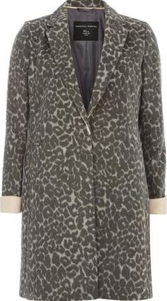 Dorothy Perkins Womens Grey Animal Boyfriend Coat- Animal Grey animal print boyfriend coat with a body length of 88cm. 67% Polyester,31% Acrylic,1% Nylon,1% Wool. Machine washable. http://www.comparestoreprices.co.uk/january-2017-9/dorothy-perkins-womens-grey-animal-boyfriend-coat-animal.asp