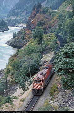 CP 4563 Canadian Pacific Railway MLW M630 at Yale, British Columbia, Canada by Bill Edgar