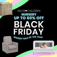 BEST DEAL OF THE YEAR: Up to 70% Sitewide! The Safest & Healthiest Nursery Furniture: Cribs, Gliders, Dressers, Changing Tables, and So Much More! You Don't Want to Miss This!