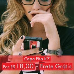 Capa Fita k7 por um preço irresistível!