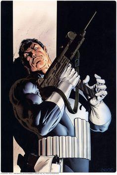 #Punisher #Fan #Art. (Punisher) By: Mike Zeck. ÅWESOMENESS!!!™ ÅÅÅ+