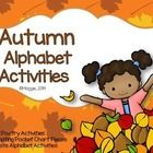 This BRAND NEW set includes an original poem for every letter in the alphabet.  Each poem is centered around the season of Fall.  In addition to th...
