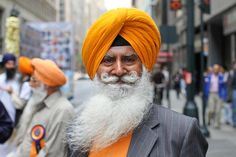 That moustache is so sikh.