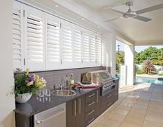 Give a stylish look to your windows with external shutters. Check out more http://www.supremeshuttersbrisbane.com.au/shutters/sovereign-external-aluminium-shutters/