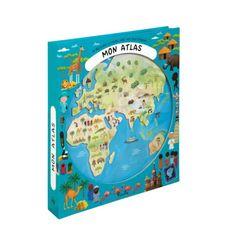 Livre Mon atlas