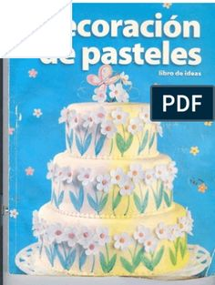 How to guide for making flowers and borders by margiemg in Types > Instruction manuals y cake decorating Wilton Cake Decorating Supplies, Cake Decorating Books, Cake Decorating Courses, Decorating Ideas, Wilton Cake Chart, Wilton Cakes, Tiered Cake Stands, Tiered Cakes, Over The Hill Cakes