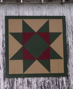 Barn Quilt pattern I am working on