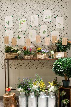 Botanical wedding inspiration | Image by Marion Heurteboust
