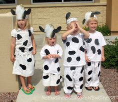 Easy Cow Costume Interested more in finding what are these and what other people has to say on this