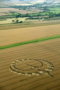 Crop Circle at Etchilhampton (2), Nr Devizes, Wiltshire. Reported 28th July   2012.